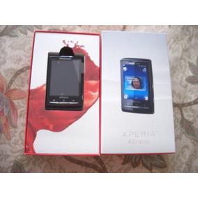 Sony Ericsson Mini Xperia X10 Color Negro Libre 5mpx