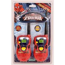 Walkie Talkie Spiderman Handie Hombre Araña Mejor Precio!!