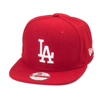Boné New Era Snapback Original Fit Los Angeles Dodgers Verme