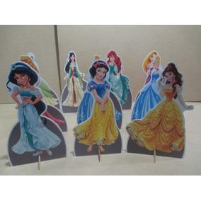 Princesas Disney Display De Mesa,personalizado,mdf