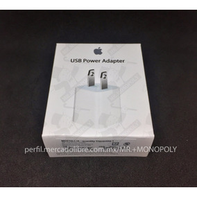 Cargador Original Apple Cubo Adaptador Iphone 5s 6s 7