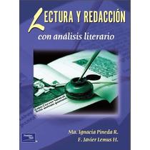 Libro: Lectura Y Redacción Con Análisis Literario - Pdf