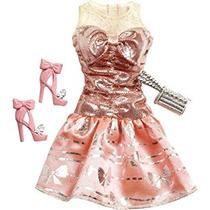 Juguete Barbie Doll Trajes 2013 Vestido De Fiesta Rosa Cora