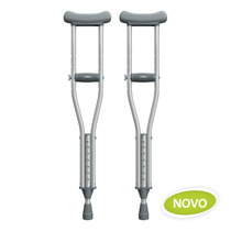 Muleta Axilar Alumínio Mercur 130 Kg/par Novas