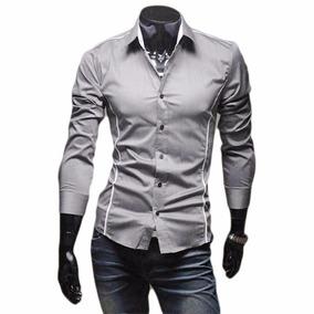 Camisas Vestir Hombre,camisa Formal Caballero, Moda Asiatica
