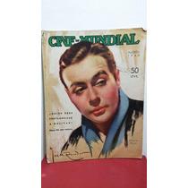 Charles Boyer Revista Cine Mundial Agosto 1940
