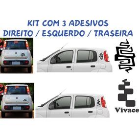 Acessorios Novo Uno Adesivos Coluna Sport Vivace Way Kit