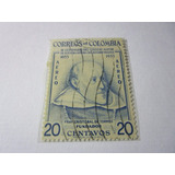 Colegio Mayor Rosario Bogota 1953 20c Sello Colombia L7
