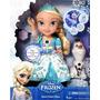 Muñeca Frozen Glowing Elsa Canta Dice 15 Frases Envío Gratis
