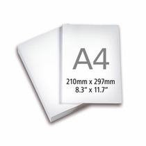 Papel Adesivo Fosco A4 195 Grs.c/500 Folhas P/inkjet E Laser