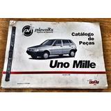 Catalogo De Peças Original Fiat Uno Mille Impresso