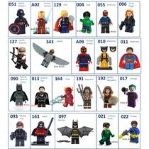 Minifiguras Lego Compatível Vingadores X-men Liga Da Justiça