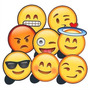 Plaquinhas Divertidas Zap Zap Whatsapp Selfies 8 Unidades