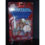 Motu He Man 2001 + Mini Book King Of Grayskull De 1981 Super