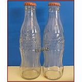 Dante42 Lote 02 Botella Coca Cola Vacia Edicion Limitada