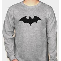 Camiseta Manga Longa Batman (jim Lee) Dc