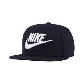 Boné Aba Reta Nike Preto E Branco Lançamento Gratis Brinde