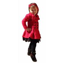 Lindo Casaco Lã Soft Lançamento Outono Inverno Infantil