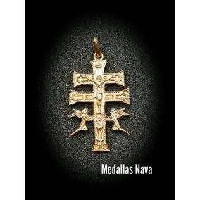 Cruz En Oro 10k De Caravaca