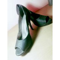 Sapato De Salto Preto Lindo E Muito Barato