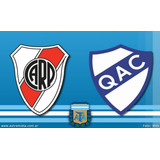 River Vs Quilmes Primera Fecha Del Torneo Centenario Baja