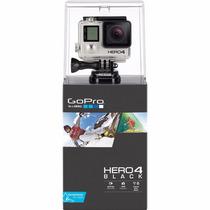 Câmera Gopro Hero 4 Black 12mp 4k 30 Fps (chdhx-401)