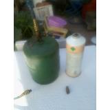 Garrafa Recarga De Refrigeracion +manguera +pico De Carga