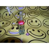 Coca Cola Mini Botellita Miniatura Y Ficha Mini