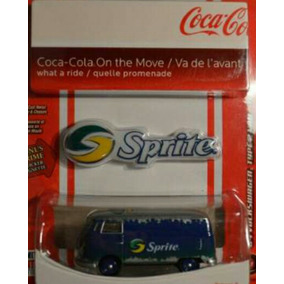 Kombi Sprite 1/64 Johnny Lightning Raridade