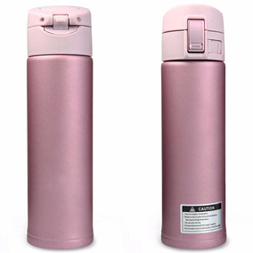 Termo Dosificador De Acero Inoxidable 500 Ml Rosa H1294