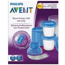 Philips Avent Vasos Recipiente Para Leche Papilla (por 10u)