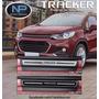 Soleira Premium Nova Chevrolet Tracker 2017 - Proteção