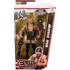 Wwe Big Show Elite Colección Serie 22 Cinturon Campeonato