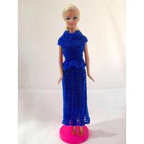 Conjunto Com Blusa E Saia Longa Para Barbie.