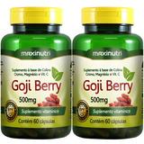 Goji Berry 500mg - Maxinutri - 2x60 Cápsulas