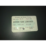 River Vs San Lorenzo Torneo Apertura 1998
