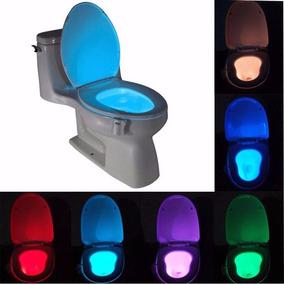 Luz Led Con Sensor De Movimiento Para Taza De Baño