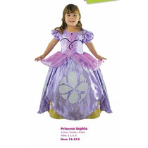Disfraz Princesa Sofia Niñas Talla 8