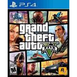 Gta 5 V Ps4- Grand Theft Auto Fisicos Sellados Nuevos!!