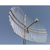 Antena Amplificador De Señal Para Celular 33 Db Exterior