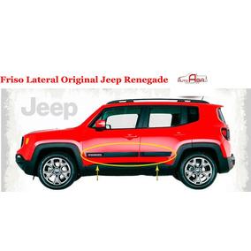 Friso Lateral Jeep Renegade Original 2015 16 17 18 4 Peças