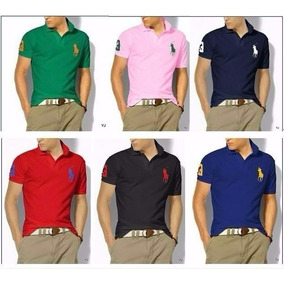 Kit C/05 Camisa Polo Masculina Lacoste, Tommy, Hollister