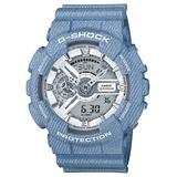 Relógio Casio Modelo Limitado Azul G-shock Ref Ga-110dc-2a7