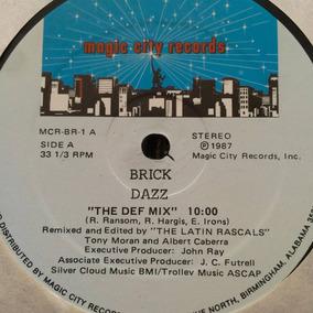 Brick Dazz Original Disco Vinilo Disco 80s Funk Black Maxi