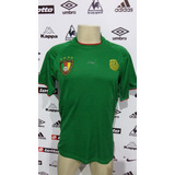 Camisa Seleção De Camarões Puma #10 Eto Tm P