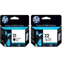 Cartuchos Originales Hp 21 22 122 60 74 75 27 28 56 901etc