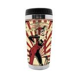 Copo Térmico 450ml Arlequina, Harley Quinn - Dc Comics