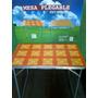 Mesa Aluminio Y Acero Plegable Portatil, Liviana,consulte