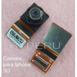 Camara Para Iphone 3g Repuesto Con Flex
