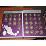 Monedas Bimetalicas De $100.00 Heraldicas 1era. Fase C/album